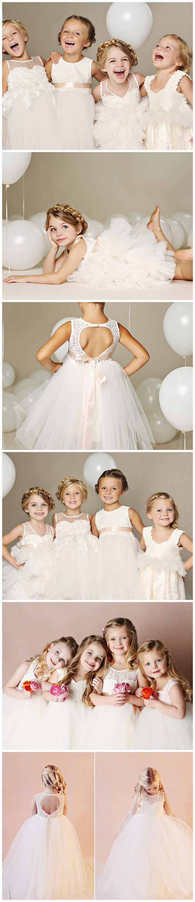 Quite Possible the cutest flower girl dresses on earth! https://confettidaydreams.com/flower-girl-dresses-fattie-pie/