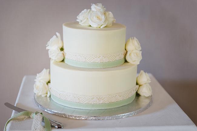All White Wedding Cakes 2