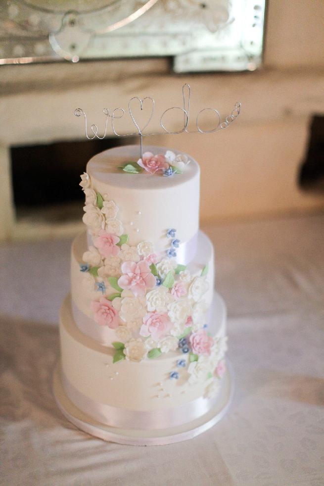 All White Wedding Cakes (29)