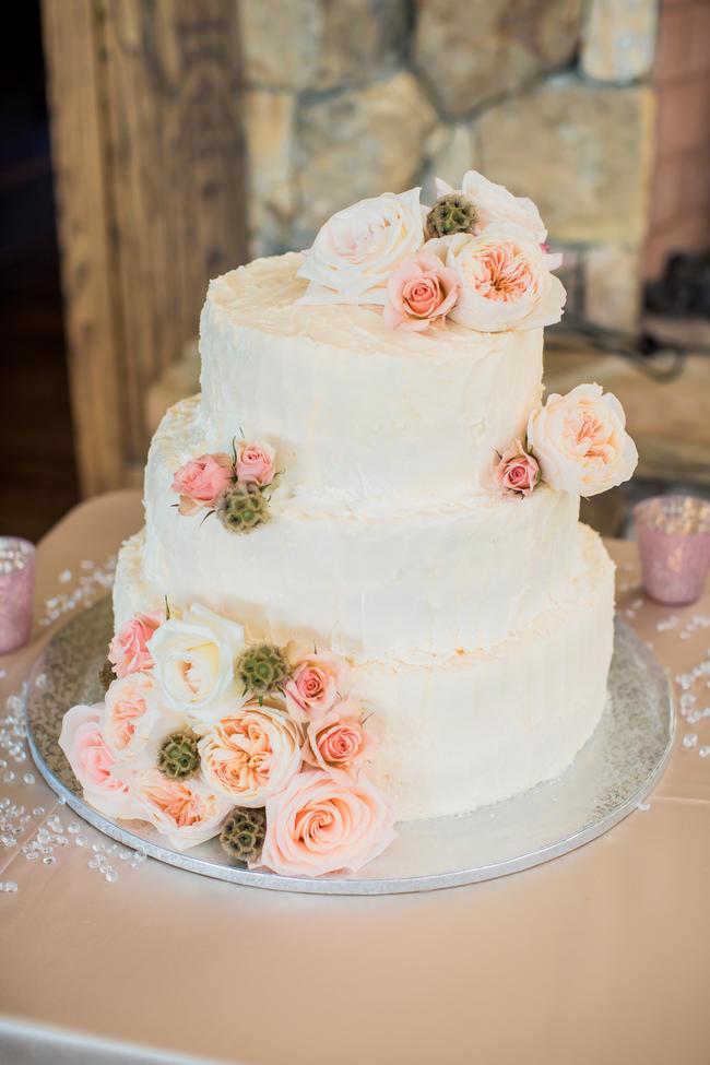 All White Wedding Cakes (34)