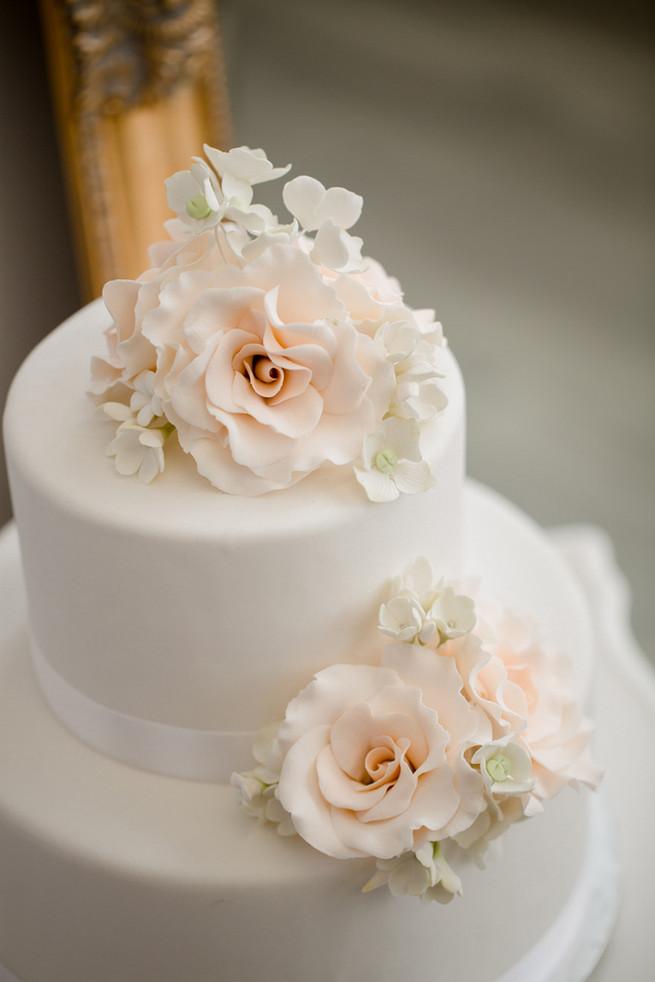 All White Wedding Cakes (7)