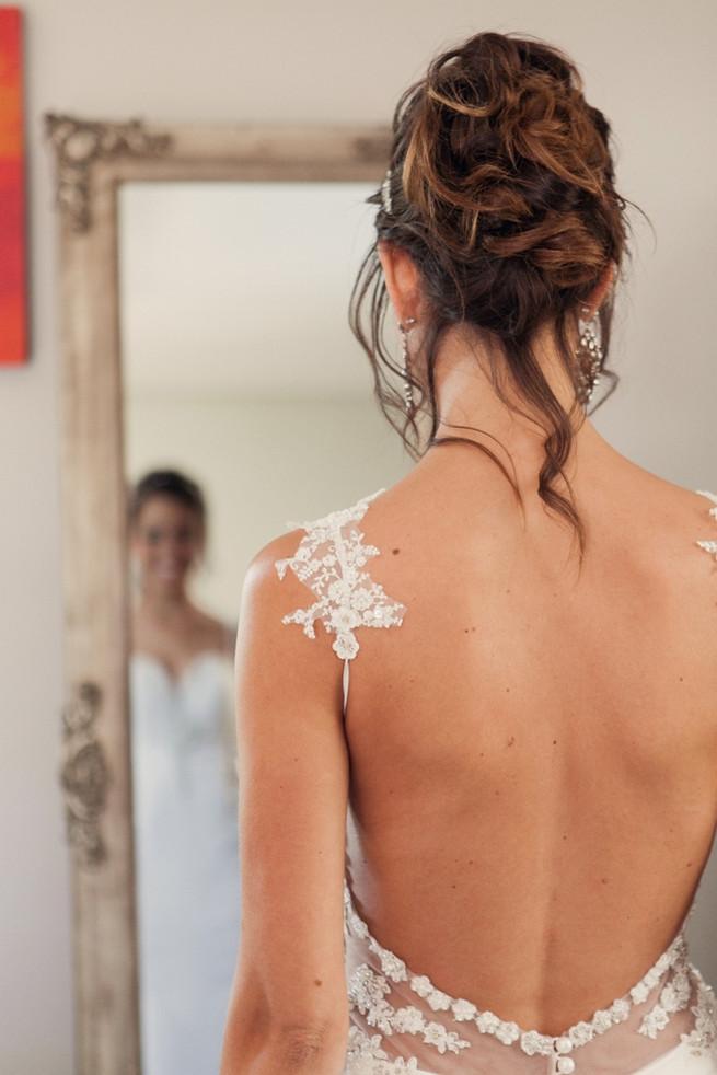 backless wedding dress. Chic, Romantic Cape Town City Wedding (Coba Engelbrecht Photography)