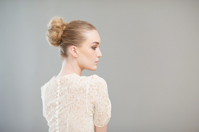 How to make a beautiful donut bun. Hair & Make Up Lisa Brown. Photography Samantha du Toit