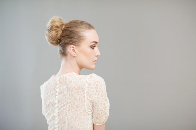 How to make a beautiful donut bun. Hair & Make Up Lisa Brown. Photography Samantha du Toit