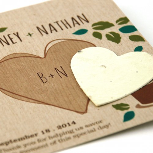 Eco Friendly Wedding Favors Seed paper (1)