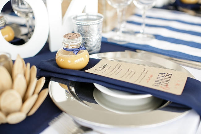 Eco friendly wedding favors - preserves