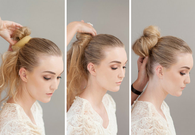 Pleasant How To Make A Donut Bun By Lisa Brown St Photography Hairstyles For Men Maxibearus