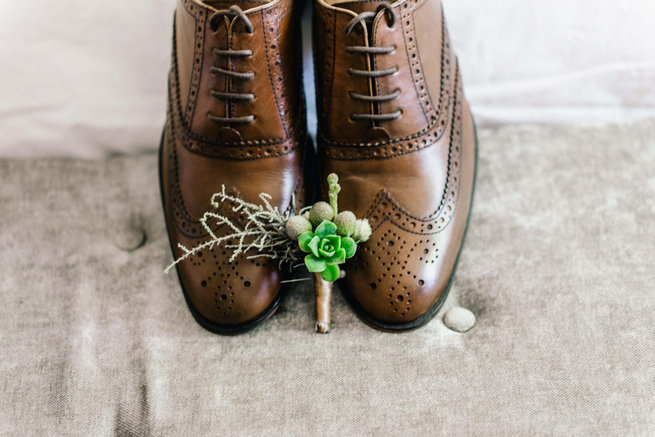 succulent boutonniere / Langkloof Roses Wedding, Cape Town - Claire Thomson Photography