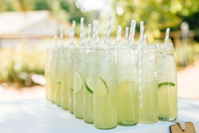 Lime refreshments // Langkloof Roses Wedding, Cape Town - Claire Thomson Photography
