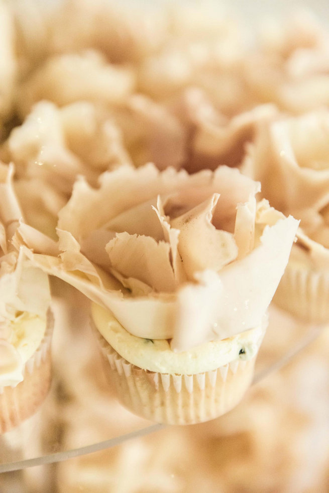 Cupcakes // Langkloof Roses Wedding, Cape Town - Claire Thomson Photography
