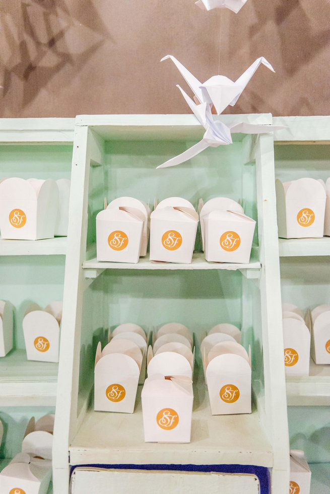 Wedding take away boxes // Langkloof Roses Wedding, Cape Town - Claire Thomson Photography