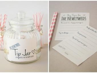 Newly Wed Tip Jar
