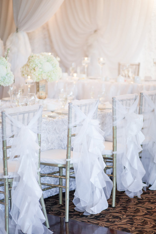 Vintage Inspired White Glamorous Wedding Haley Photography