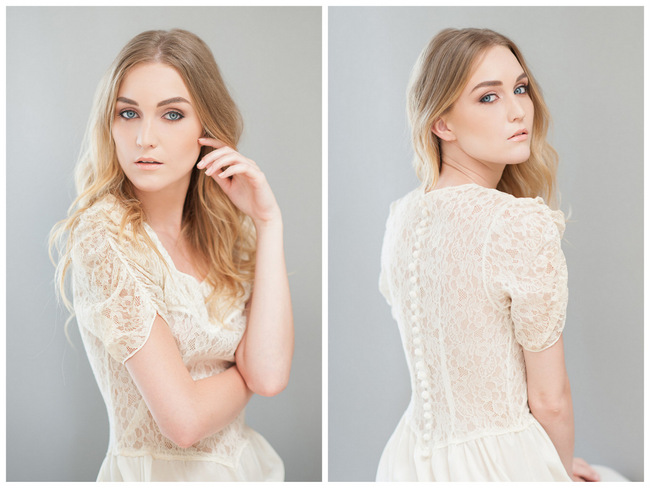Soft, Romantic Wedding Make-Up Tutorial {ST Photography}