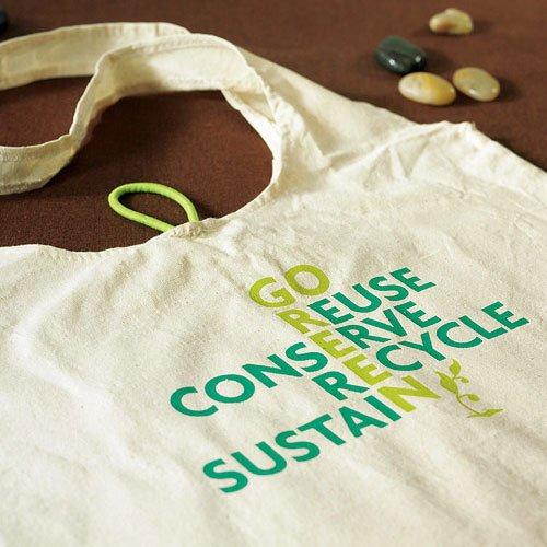 eco friendly wedding tote favor