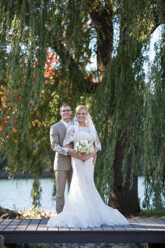 - Beautiful Burgundy and Tan Wedding - Molinski Photo
