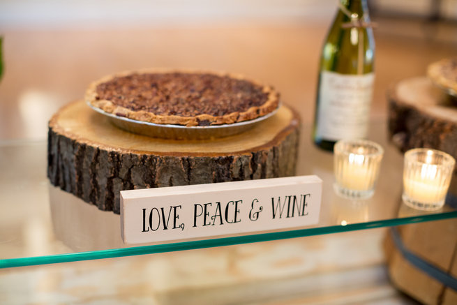Love, Peace and Wine - Beautiful Burgundy and Tan Wedding - Molinski Photo