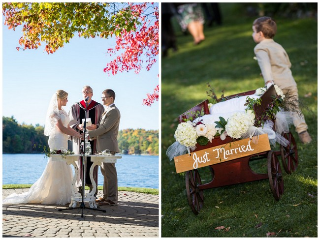 Burgundy Tan Wine Lovers Wedding  - Molinski Photo