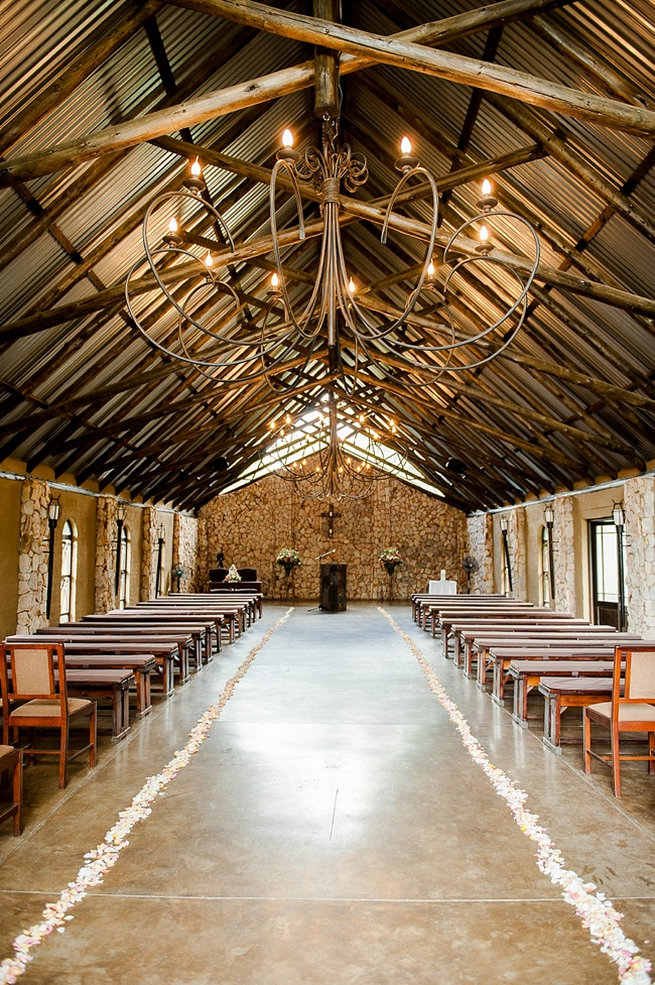 Ceremony venue. Coral and Green South African Wedding // D'amor Photography