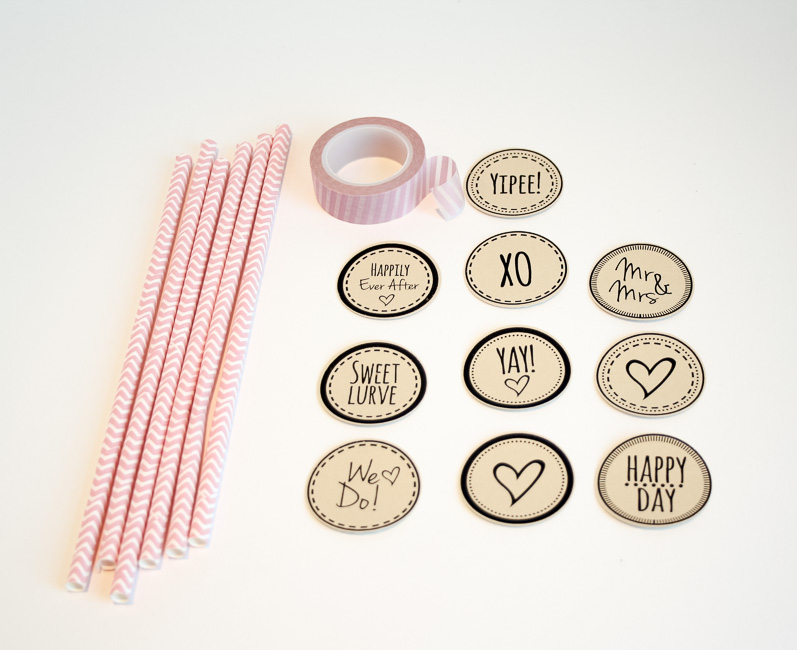Cute Printable Cupcake Topper & Cocktail Stirrers {Free ...