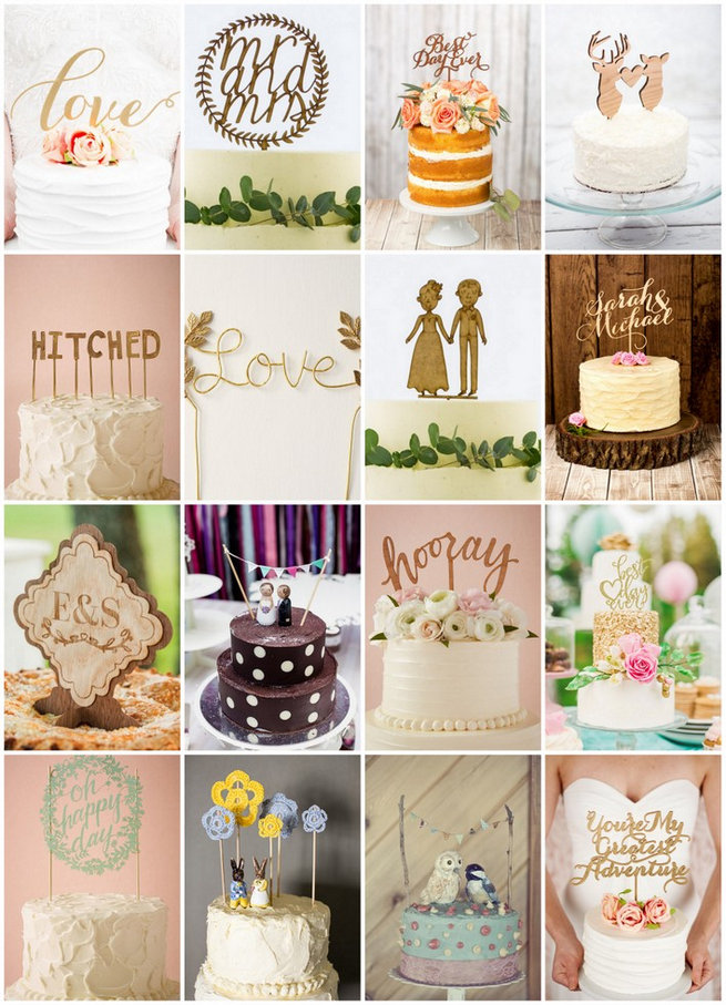 Fun Wedding Cake Toppers 1