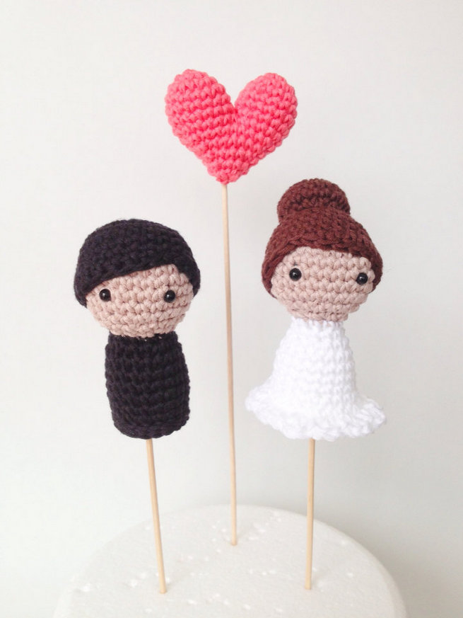 Fun Wedding Cake Toppers 10