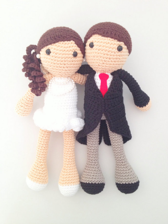 Fun Wedding Cake Toppers 11