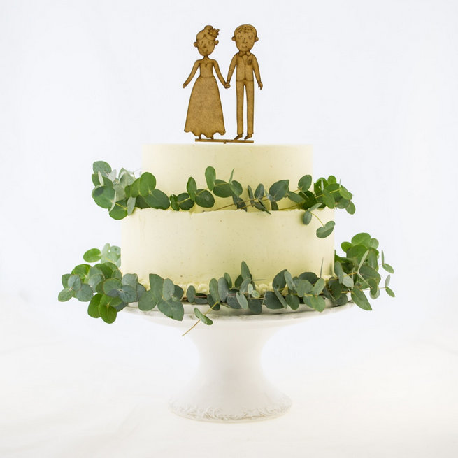 Fun Wedding Cake Toppers 30