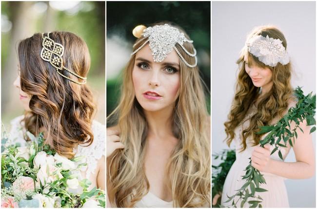 Romantic Vintage Bridal Headpieces
