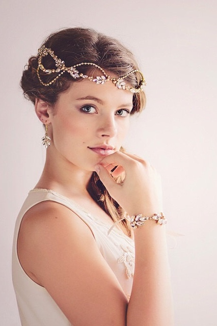 romantic vintage inspired bridal headpieces 1