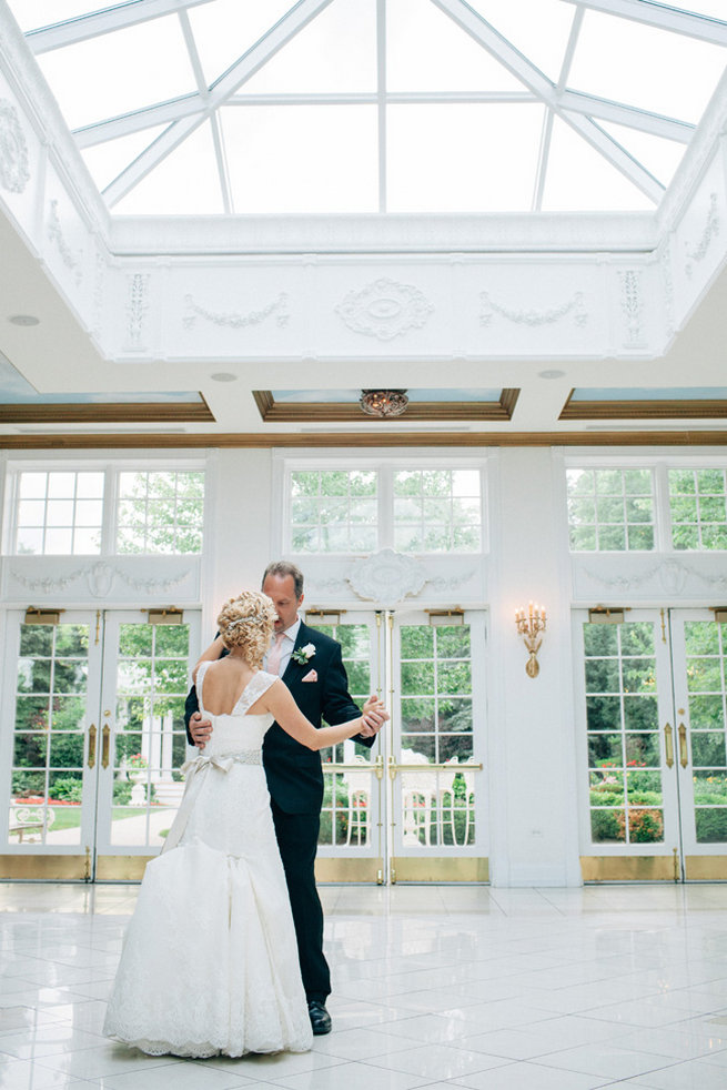 Blush Wedding at Patrick Haley Mansion, Chicago // Traci and Troy Photography