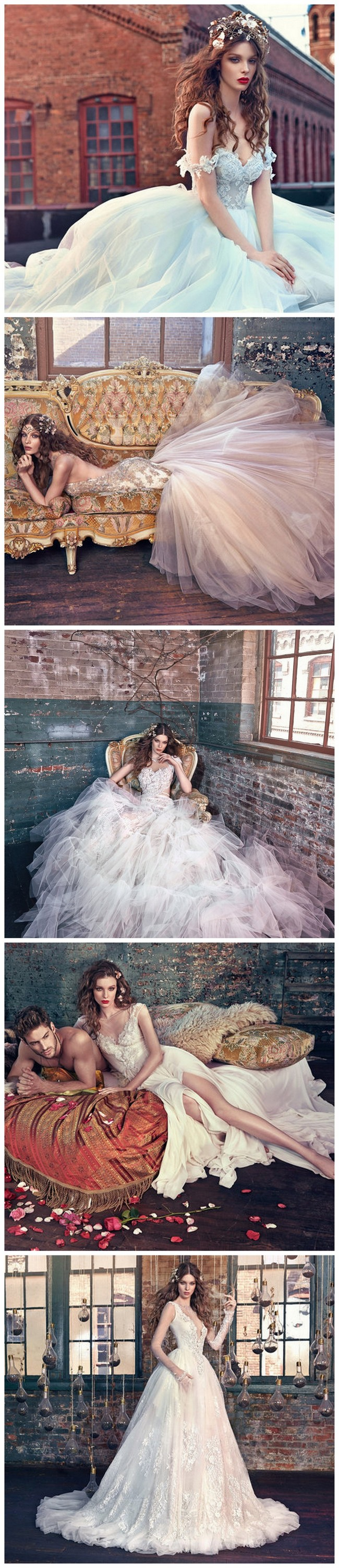 Fairy Tale Wedding Dresses http://www.confettidaydreams.com/fairy-tale-wedding-dresses/