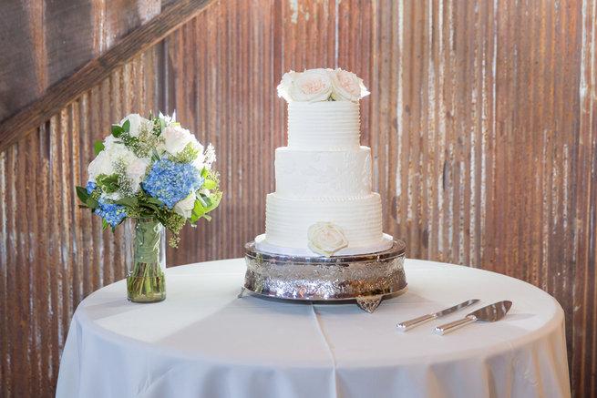 Cake. Modern Urban Wedding at Old Cigar Warehouse / Ryan and Alyssa Photography