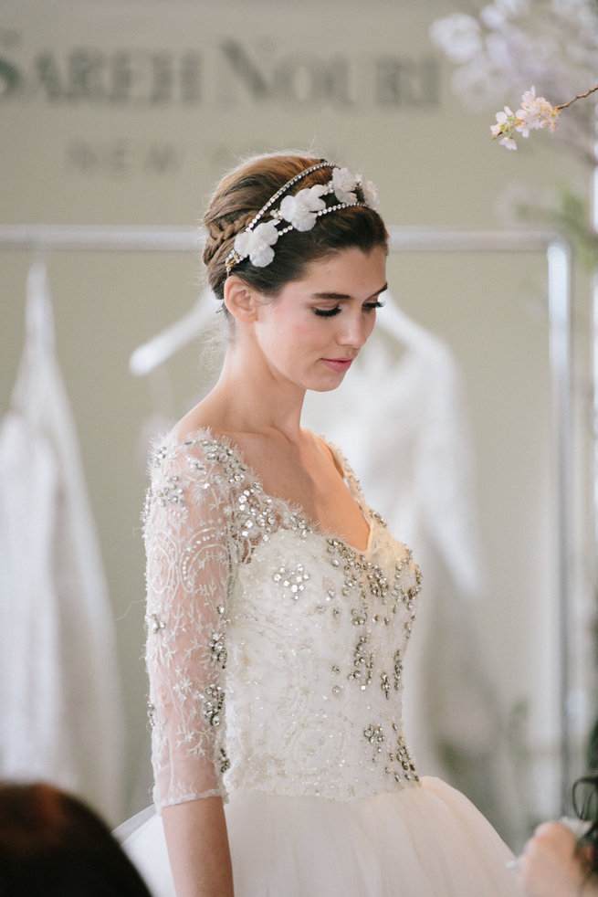 Sareh Nouri Spring 2016 Bridal Market And Exclusive Designer Interview Syed Photography