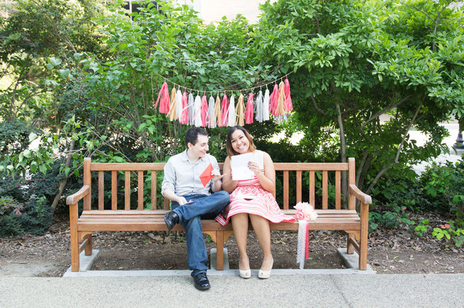 Write cute love notes. Wedding Anniversary Photo Ideas by Peterson Photography