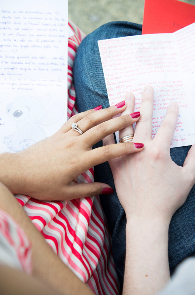Love Letters. Wedding Anniversary Photo Ideas by Peterson Photography