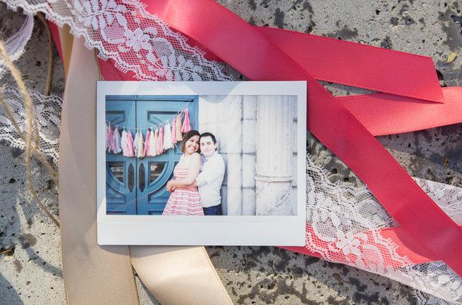 Polaroid. Wedding Anniversary Photo Ideas by Peterson Photography