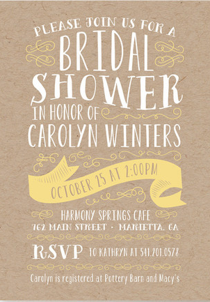 bridal shower invitation ideas 15 - Wedding Shower Invites