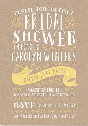 Bridal Shower Invitation Ideas (15)