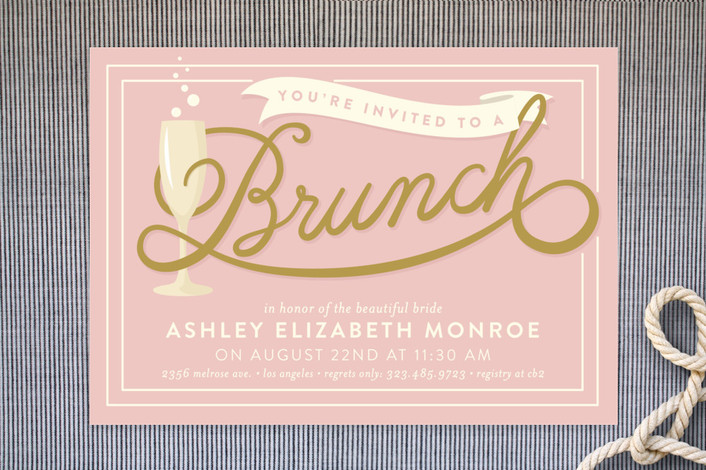 23 Bridal Shower Invitation Ideas that youre going to love