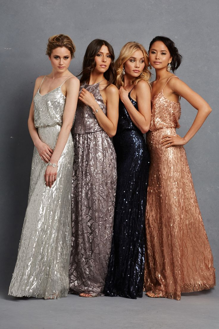 Chic romantic bridesmaid dresses to mix and match chic romantic bridesmaid dresses 14 ombrellifo Image collections