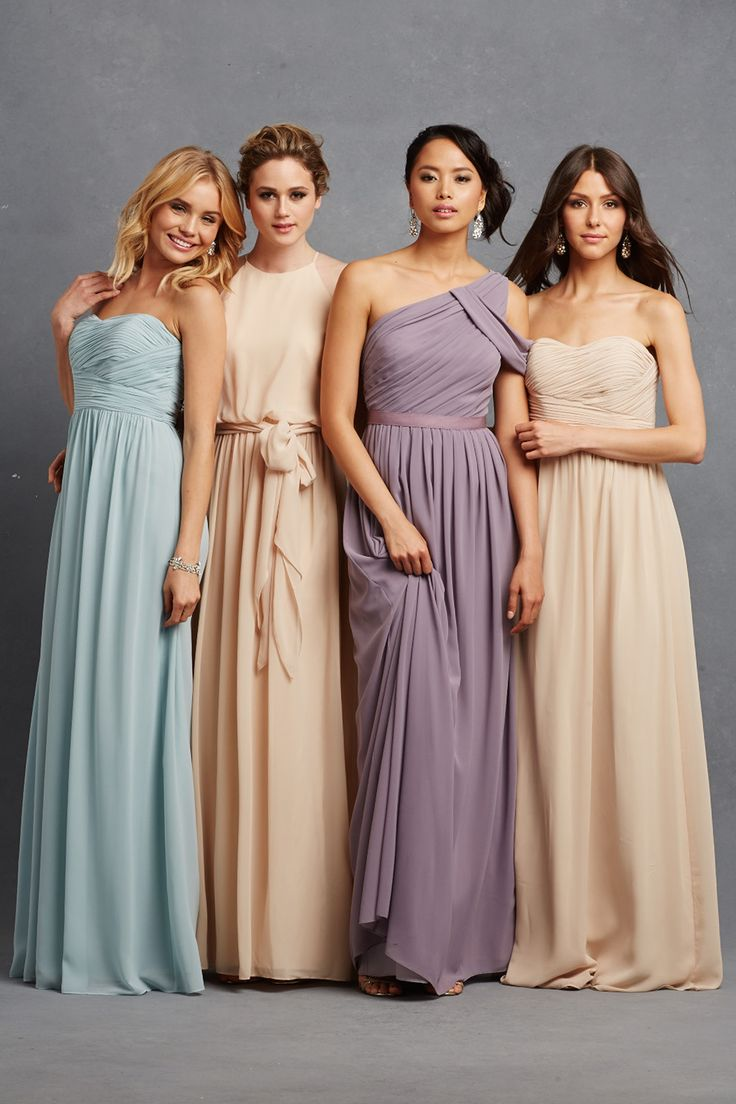 Chic romantic bridesmaid dresses to mix and match chic romantic bridesmaid dresses 2 ombrellifo Image collections