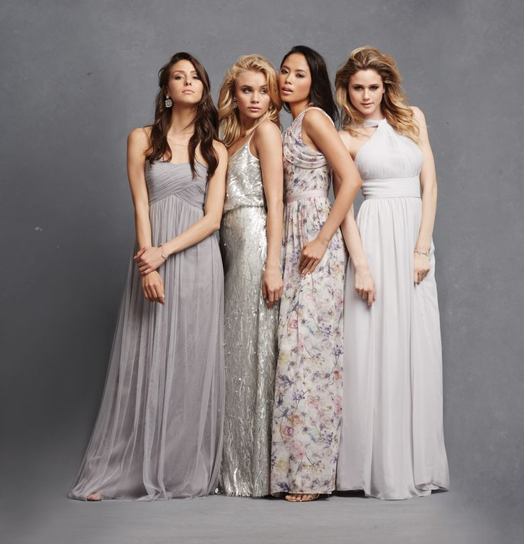 Chic Romantic Bridesmaid Dresses (27)