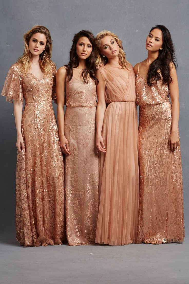 Chic romantic bridesmaid dresses to mix and match chic romantic bridesmaid dresses 34 ombrellifo Choice Image