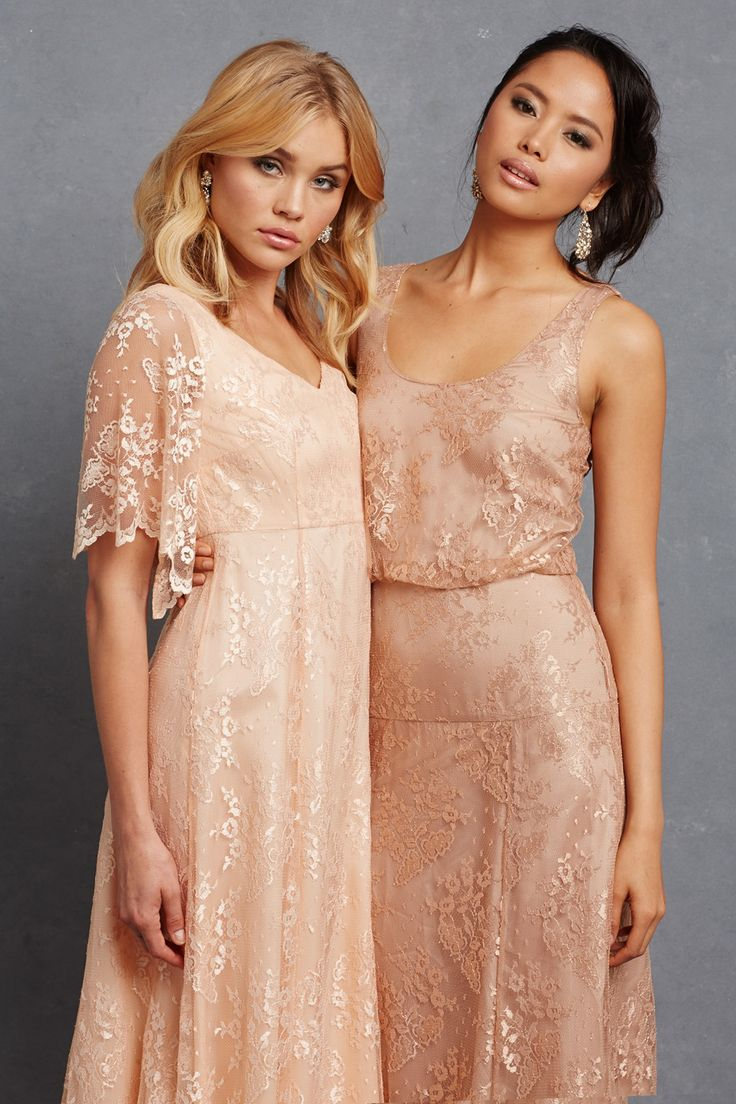 Chic romantic bridesmaid dresses to mix and match chic romantic bridesmaid dresses 9 ombrellifo Images