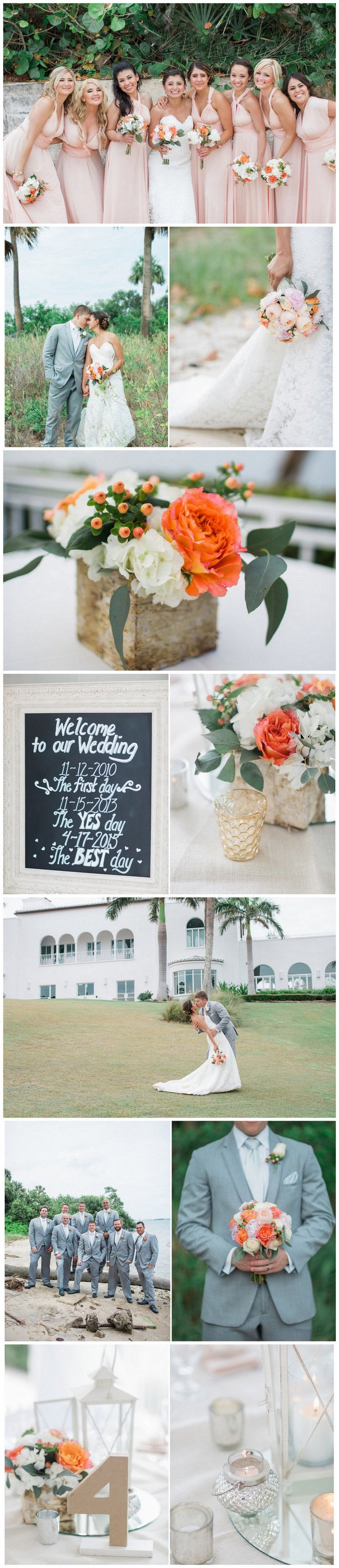Coral Spring Florida Wedding  - Jessica Bordner Photography. See more gorgeous details here: https://confettidaydreams.com/vintage-spring-florida-wedding/