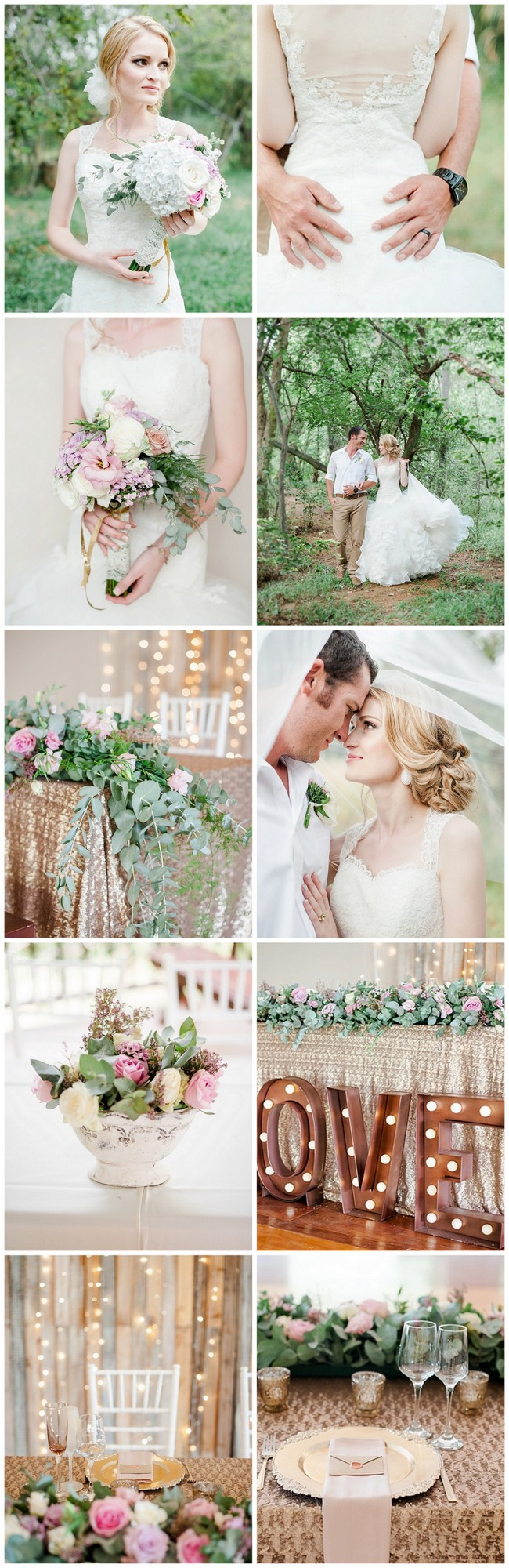 Totally Dreamy Pastel Gold Pretoria Wedding http://www.confettidaydreams.com/pastel-gold-pretoria-wedding/