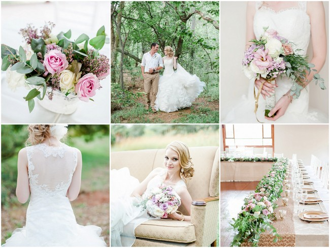 Totally Dreamy Pastel and Gold Pretoria Wedding {D'amor Photography}