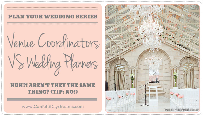 Wedding Planners VS a venue coordinator