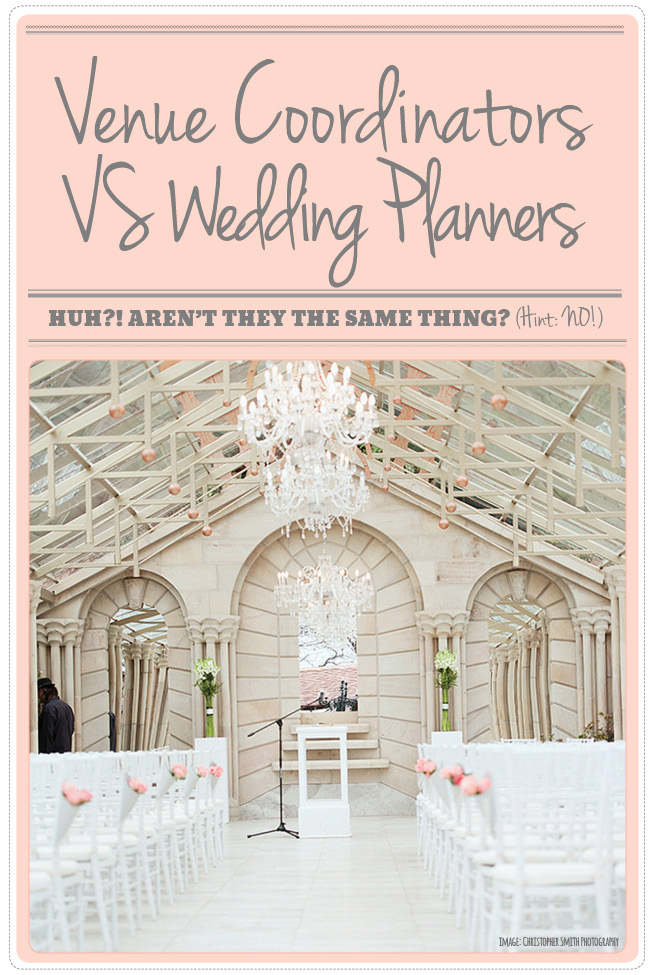 Wedding Planners vs venue coordinator - whats the difference